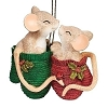 Charming Tails - Mice in a Mitten Ornament