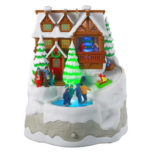 2020 Christmas Cabin -*Magic Light/Sound/Motion