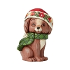 2019 Christmas Puppy Figurine - Jim Shore Heartwood Creek