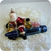 Crayola Santa Blown Glass