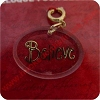 Believe - Clip On Ornament Charm