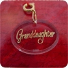 Granddaughter Ornament Charm