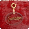 Grandpa Ornament charm