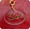 Son - Clip On Ornament Charm