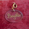 Daughter - Clip on Ornament Charm