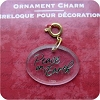 Peace on Earth - Clip On Ornament Charm