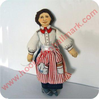 1979 Cloth Doll, Clara Barton - NB