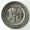 1978 Christmas Pewter Plate #2 - The Legend of the Little Drummer Boy - Rare