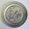 1981 Joan Walsh Anglund Winter Collectors Pewter Plate