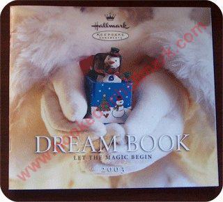 2003 Hallmark Dreambook