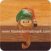 Elf with Beard - Stocking Hanger