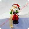 Santa with List - Stocking Hanger -