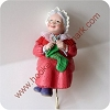 Mrs. Claus - Stocking Hanger - DB
