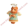 2004 Mouse Angel, Miniature Ornament & Lapel Pin
