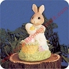 Bunny With Large Eggs - Tender Touches Figurine