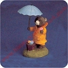 Bear With Umbrella - Tender Touches Figurine