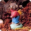Baby Bear with Backpack - Tender Touches Figurine