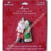 Mr and Mrs Claus Magnet - on card