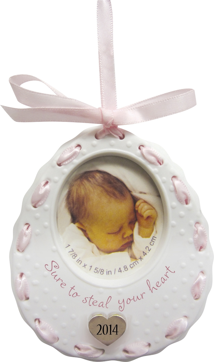 2014 Baby Girl's First Christmas Ornament | Carlton ...