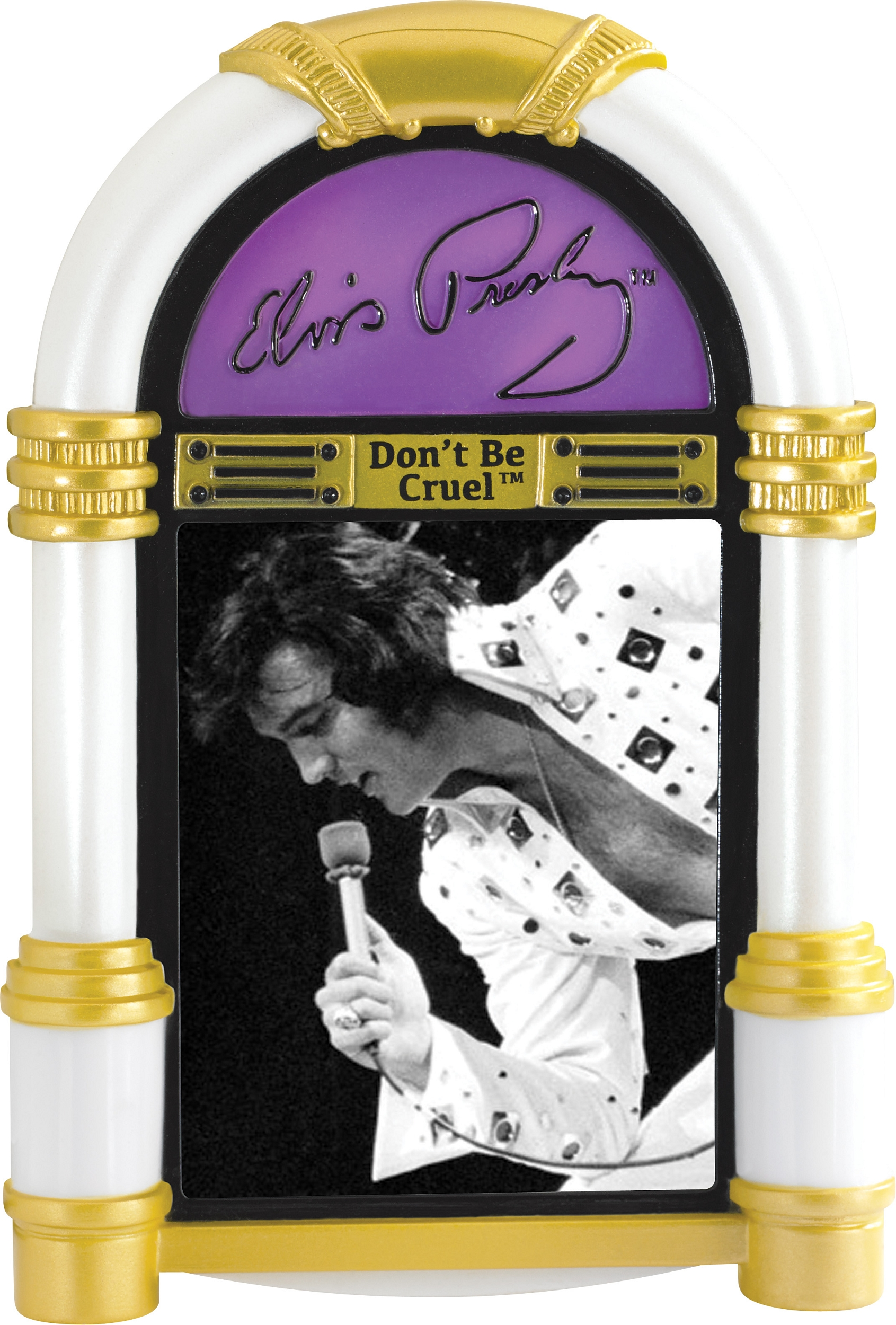 2015 Elvis Presley - Carlton MAGIC Ornament