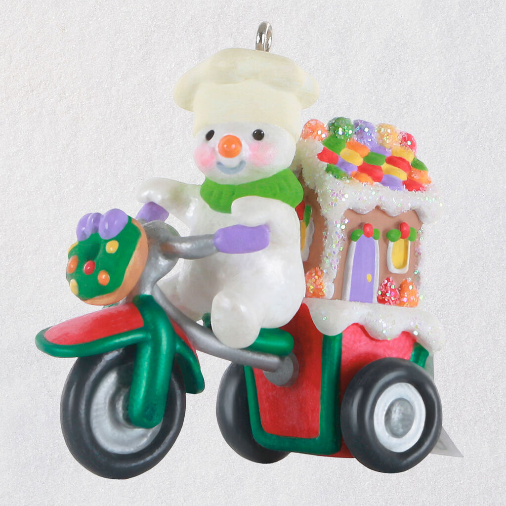 List Of Christmas Parades 2020 2020 GINGERBREAD DELIVERY Hallmark Christmas Ornament   Hooked on