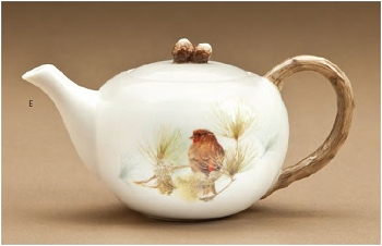Finch 20 oz Teapot - Marjolein Bastin - Nature's Journey