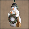 2015 Snowman with Cardinal - Marjolein Bastin Natures Journey by Demdaco
