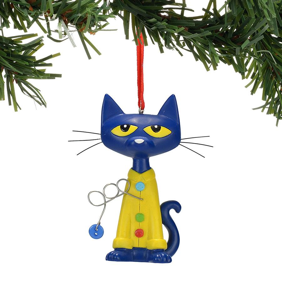Pete The Cat Christmas.Pete The Cat And His Buttons Christmas Ornament Hooked On Ornaments