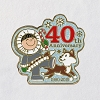 2019 40 Years of Frosty Friends LAPEL PIN
