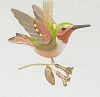 2018 Beauty of Birds Hummingbird Surprise - GOLD - Rare