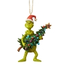 2019 Grinch Holding Tree - Jim Shore Heartwood Creek