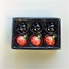 2003 Halloween Mini Pumpkins & Cats Glass Ornaments - RARE !