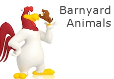 Barnyard Animal Ornaments