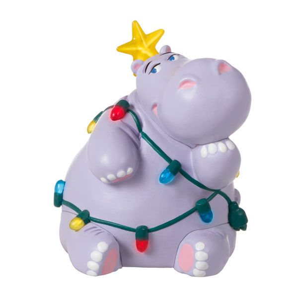 2020 Miniature HOLIDAY HIPPO - LIGHTED