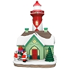 2020 Holiday Lighthouse #9 - *LIGHTED *Damaged Box
