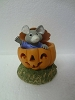 Mouse in Pumpkin - Tender Touches Figurine - Rare