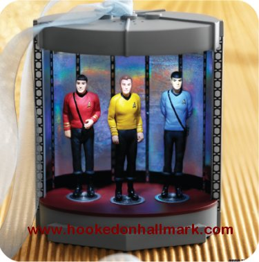 Star Trek Hallmark Ornaments at Hooked on Ornaments