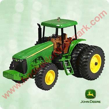 Waterloo Boy Tractor NEW 2011 Happy Holidays NEW John Deere Ornament