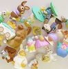 GRAB BAG of SIX SPRING Merry Miniatures - mini figurines - Not Ornaments
