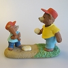 Bears Playing Baseball - Tender Touches Figurine