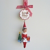 2017 Elf on the Shelf, GIRL - Personalize Ornament
