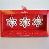 2007 Snowman Snowflake, set of 3