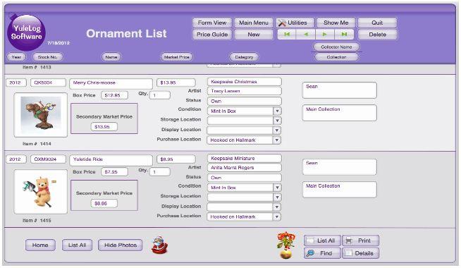 hallmark ornaments value guide download