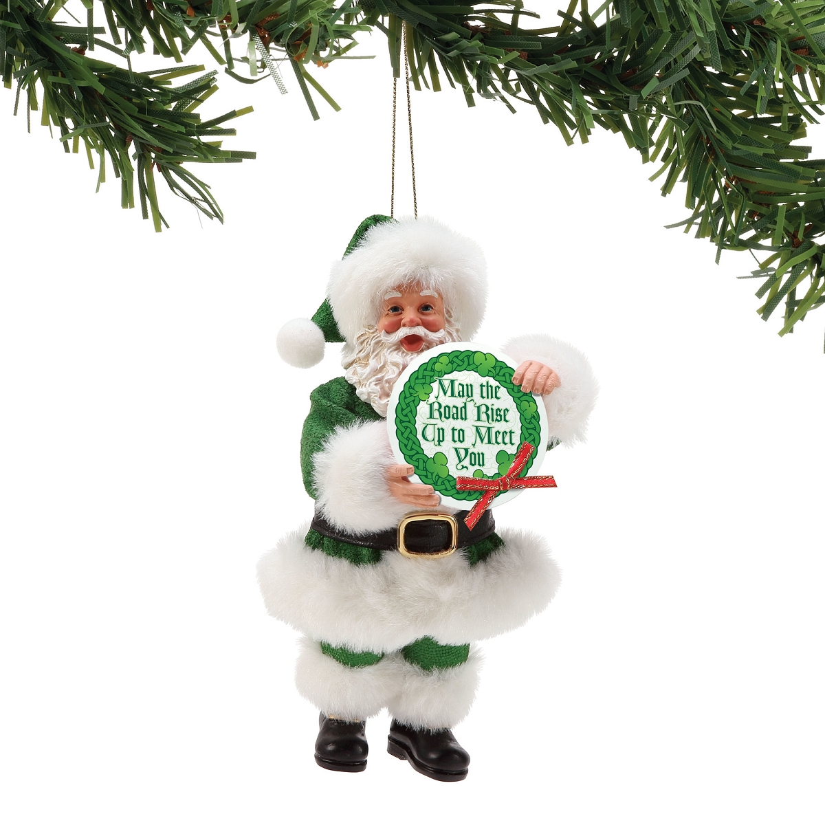 Irish Santa Possible Dream Santa Christmas Ornament - Hooked on ...