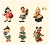 2007 Joy to the World Children - Miniature set of 6