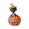 2019 Black Cat in Pumpkin Figurine - Jim Shore Heartwood Creek