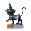 2021 Walking Black Cat Figurine - Jim Shore Heartwood Creek