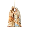 Holy Family Ornament - Jim Shore Heartwood Creek