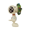 Snoopy in Wreath Figurine - Jim Shore  Ships July 13