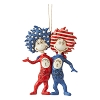 Patriotic Thing 1 and Thing 2 - Jim Shore Heartwood Creek